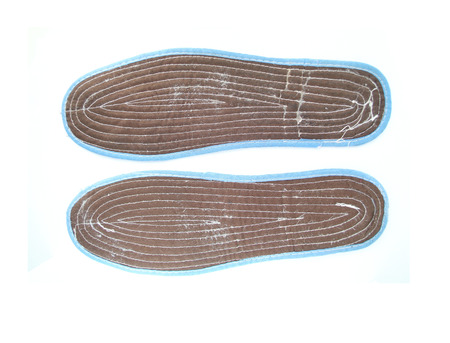 breathable: shoe insole isolated on white