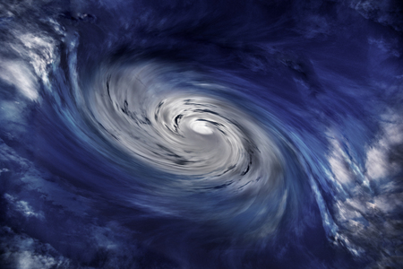 aureole: abstract background for storm or cloud Stock Photo