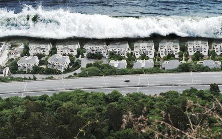 津波津波の自然災害