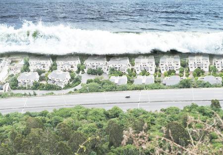 natural disaster: Tsunami Tidal Wave Natural Disaster