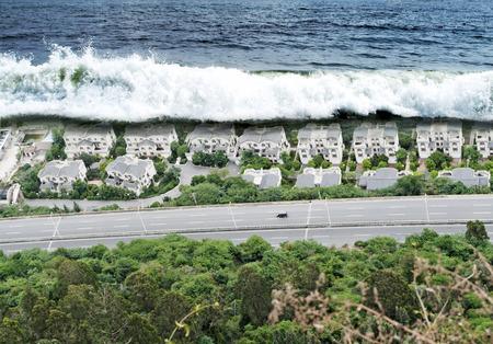 act of god: Tsunami Tidal Wave Natural Disaster
