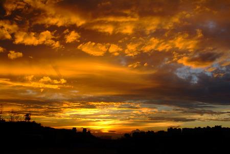 incarnadine: sunset