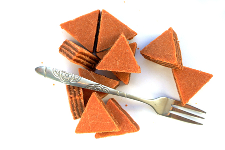 gateau: Candy, sweet cake dessert Stock Photo