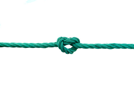 Rope with knot collection Stock Photo