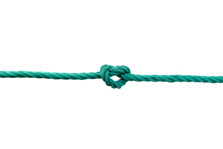 Rope with knot 版權商用圖片