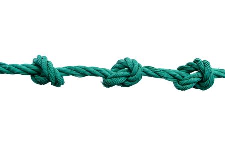 Rope with knot 版權商用圖片