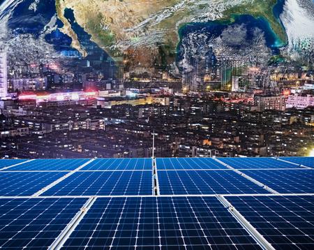 Global solar energy concept Editorial