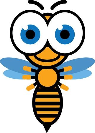 honey bee  Ilustração