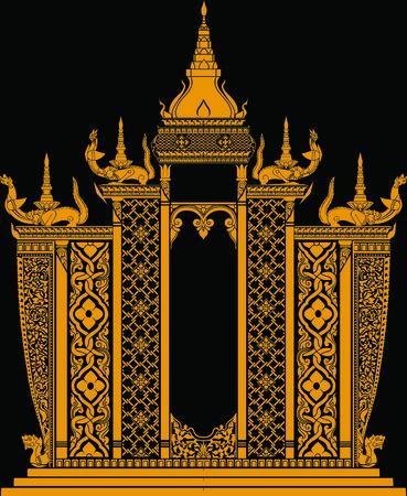 shrine: Thailand art