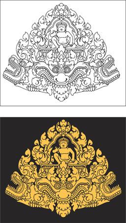 lintel: Narai lintel art