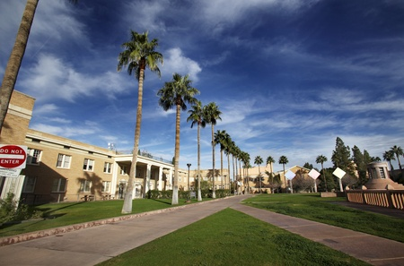 Arizona Campus path Stock Photo - 13413908