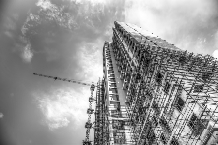 the job site: cantiere