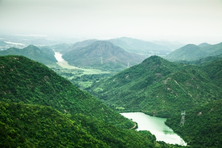 vue sur la montagne Banque d'images