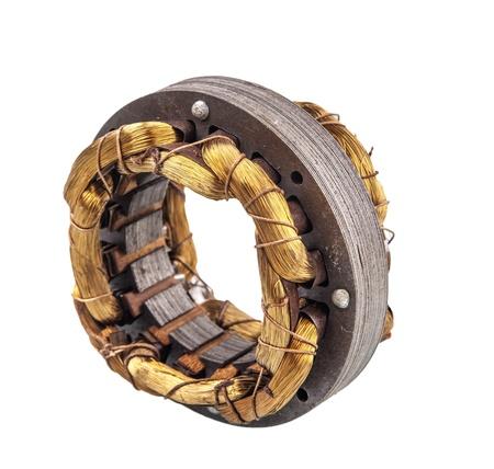 magnetismus: Elektro-Magnetismus Kupferwalze Lizenzfreie Bilder