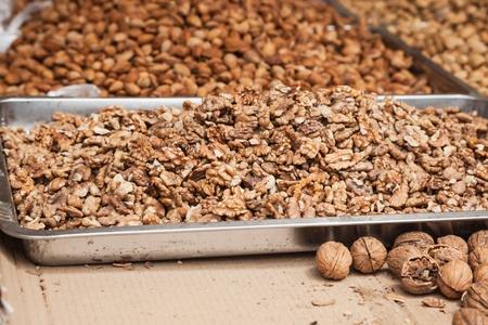 kernel: walnut kernel stacked together