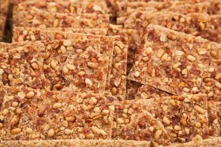 sunflower and sesame seeds mixed with sugar syrup Stock Photo - 16775116