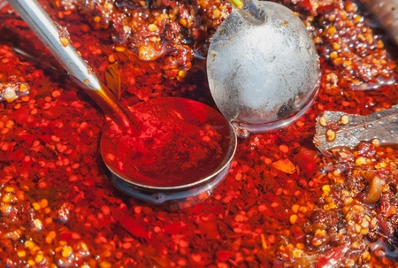 chili sauce with oil