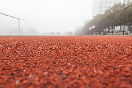 red running track Stock Photo - 17844270
