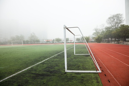 soccer field Stock Photo - 17844293