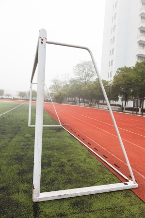 soccer field Stock Photo - 17844275