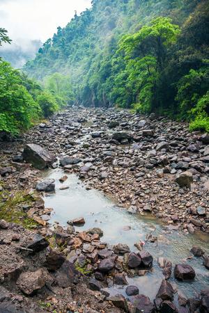 Matoushan Mountain, A canyon in zixi county fuzhou city,Jiangxi Province Banque d'images