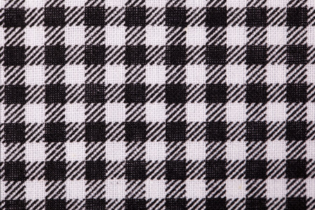 black grid table cloth photo