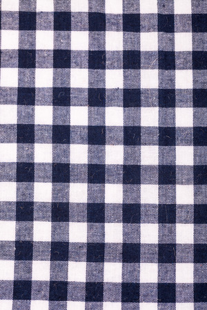 table cloth with grey grid photo