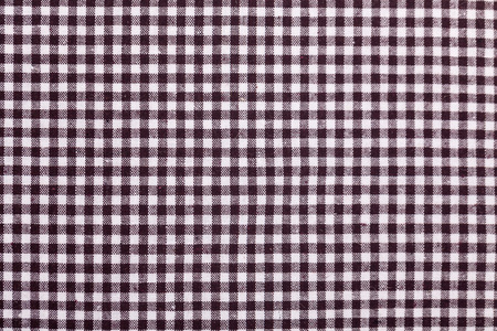 table cloth with brown grids photo
