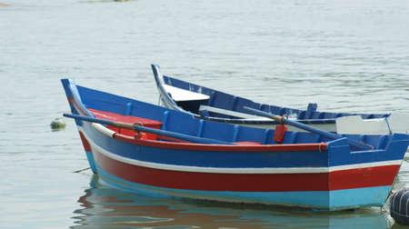 Boat and fishing boats