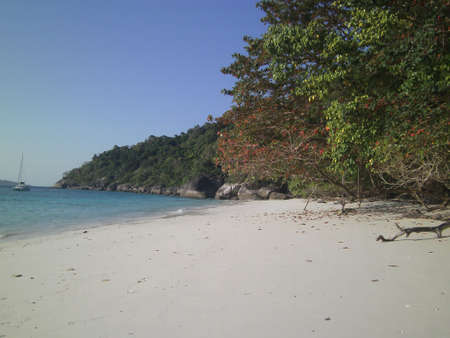 small beach,similan island Stock Photo - 14037301