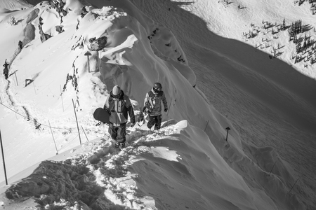 earn your turn in kicking horse
