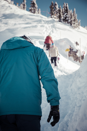 kicking: ski touring in kicking horse, canada