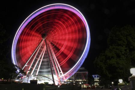ferris wheel in Brisbane, Australia Stock Photo