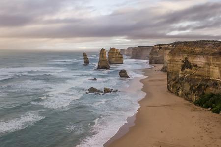apostles: view on the 12 apostles of australia