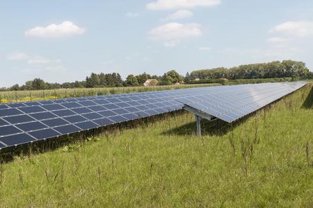 open field solar power system near munich