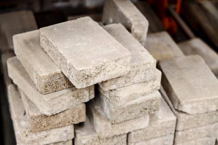building material - concrete blocks - concrete tiles Imagens