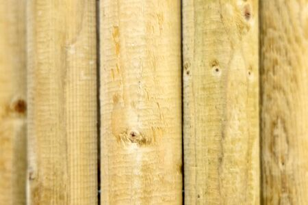 building material - wooden fence post pole
