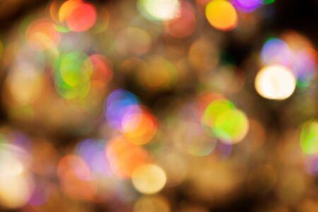 defocused pattern of lights with bokeh
