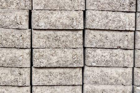 building material - concrete blocks - concrete tiles