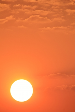 Sunset - Color Background of Mother Nature as seen in the wilds of Africa  photo
