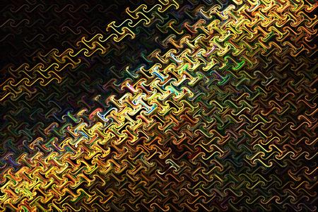 arte abstracto: Neon Wallpaper of Gold - Color de fondo y del arte abstracto Foto de archivo