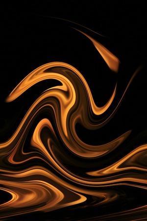 arte abstrata: Fogo e Chama - arte abstracta - Iconic Beauty of Color