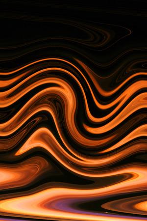 arte abstrata: Fogo e Chama - arte abstracta - �cone colorido Vida Banco de Imagens
