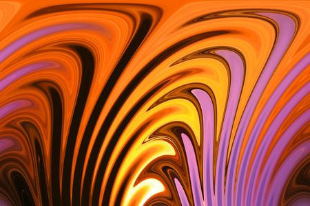 Golden Purple - Fire and Flame Background - Illustrative Icon photo