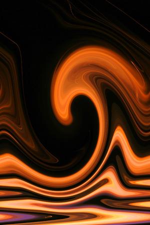 arte abstrata: Fogo e Chama - arte abstracta - Cor de Fundo Banco de Imagens