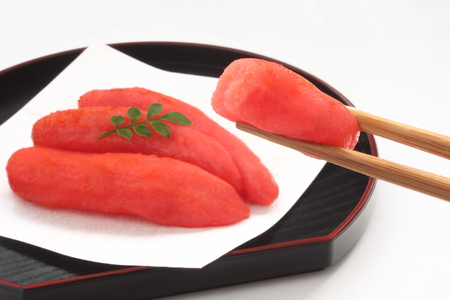 spawn: Spicy Cod Roe, Japanese Food Stock Photo