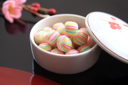 Japanese sweets, candy Stock Photo