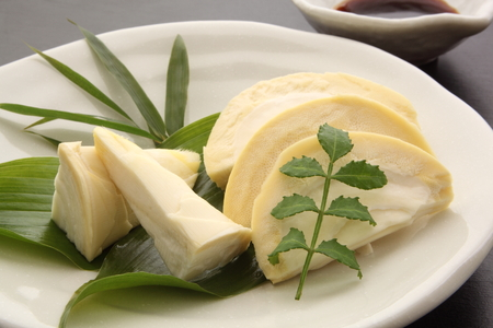 筍のお刺身、日本料理