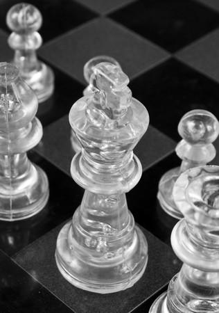 Glass Chess Stock Photo - 7181666