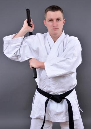 nunchaku: Training Nunchaku  Stock Photo